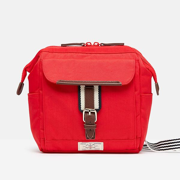 Joules Red Wells Cross Body Bag