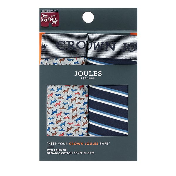 Joules Dog Pack of 2 Crown Joules Underwear