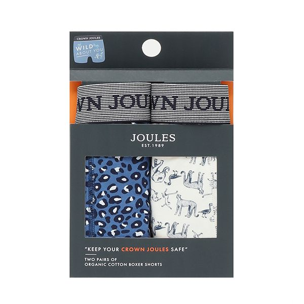 Joules Wild Crown Joules Pack of Two Underwear