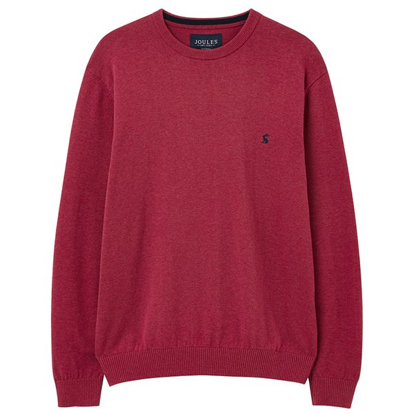 Joules Purple Marl Crew Neck Jumper