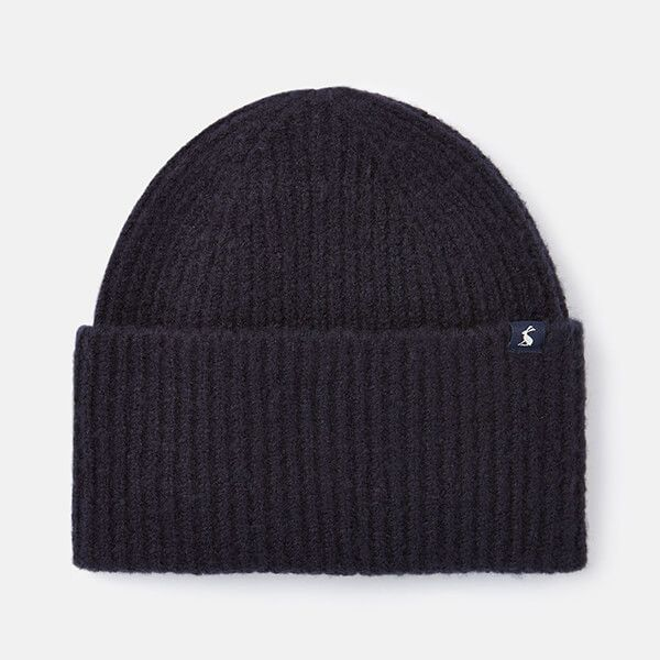 Joules Navy Vinnie Knitted Hat