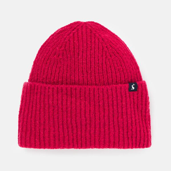 Joules Pink Vinnie Knitted Hat