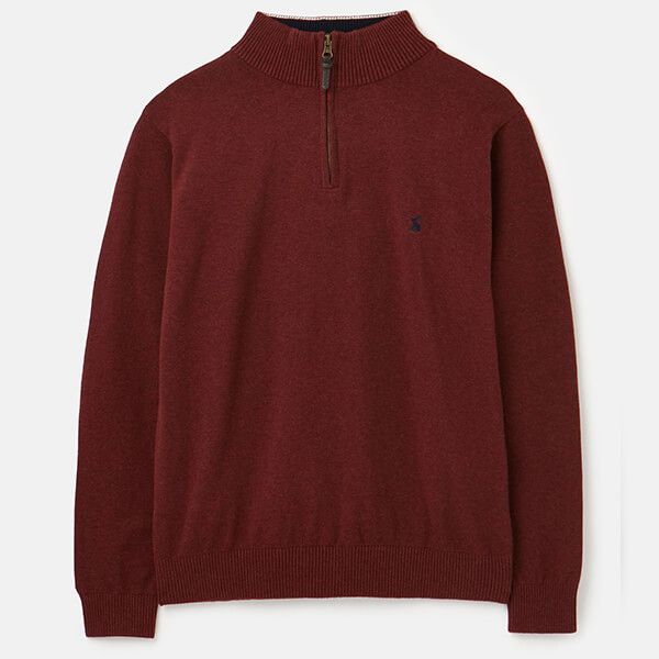 Joules Port Hillside 1/4 Zip Funnel Neck Jumper