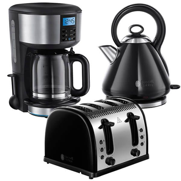 Russell Hobbs Legacy Breakfast Set Black