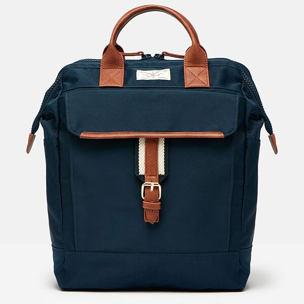 Joules French Navy Wells Rucksack