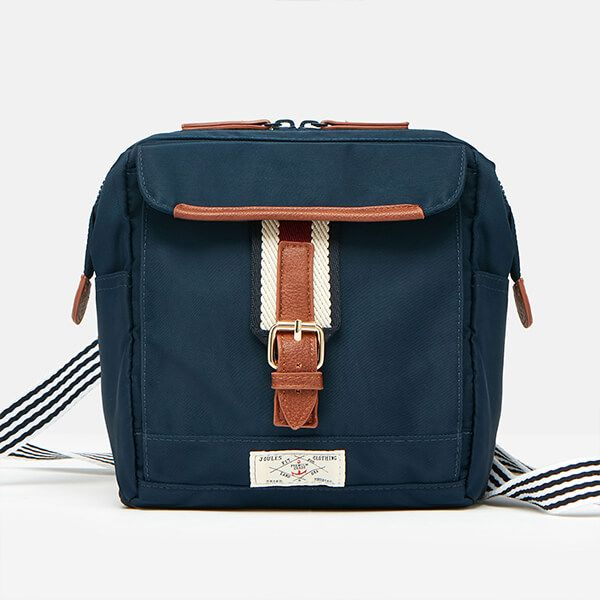 Joules French Navy Wells Cross Body Canvas Bag