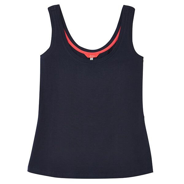 Joules French Navy Annika Scoop Neck Jersey Vest