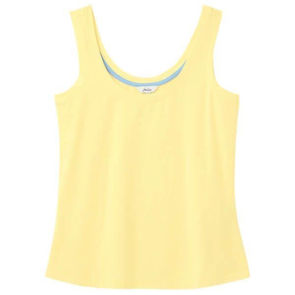 Joules Pale Lemon Annika Scoop Neck Jersey Vest