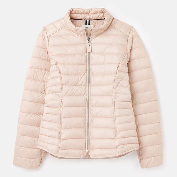 Joules Metallic Canterbury Short Luxe Padded Jacket