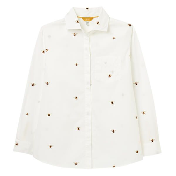Joules Chalk Bee Amilla Dropped Shoulder Shirt