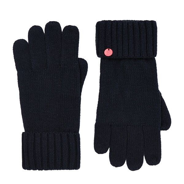 Joules French Navy Joanie Knitted Gloves