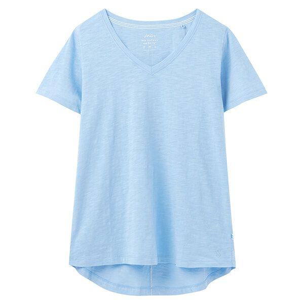 Joules Celina Solid V Neck T-Shirt