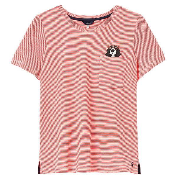 Joules Spaniel Carley Classic Crew T-Shirt