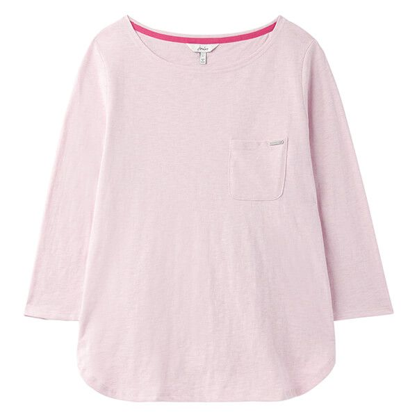 Joules Pink Marl Melissa Pyjama Top