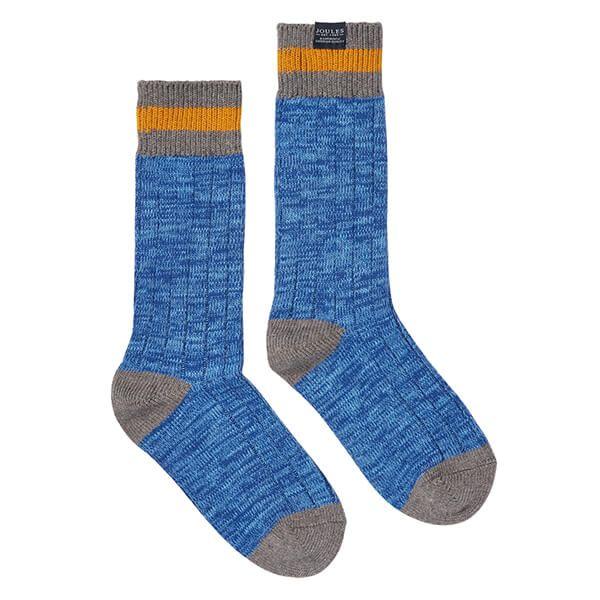 Joules Windsor Blue Boot Socks