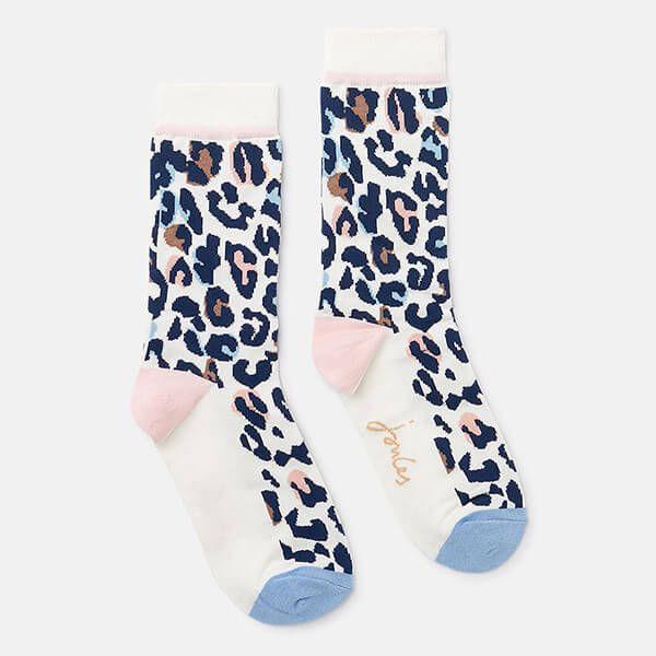 Joules Animal Print Brill Bamboo Socks