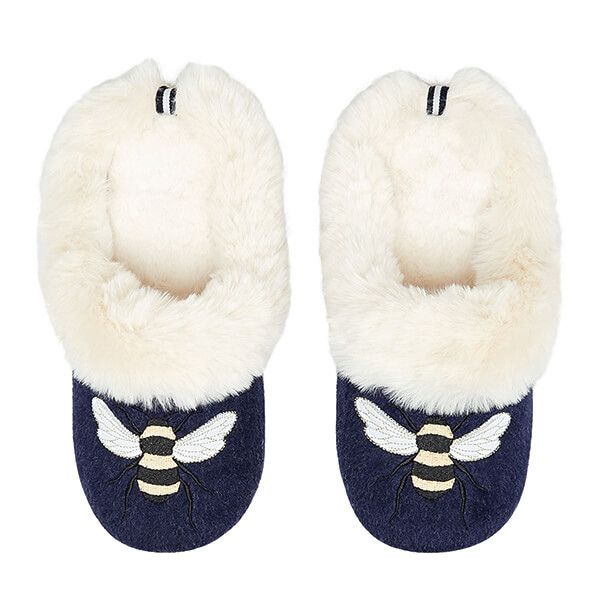 Joules Bee Slippet Luxe Slip On Character Slippers