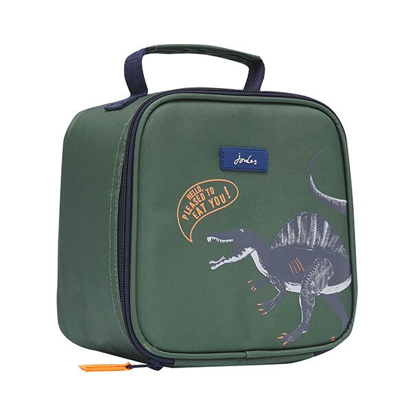 Joules Green Dino Munch Lunch Bag