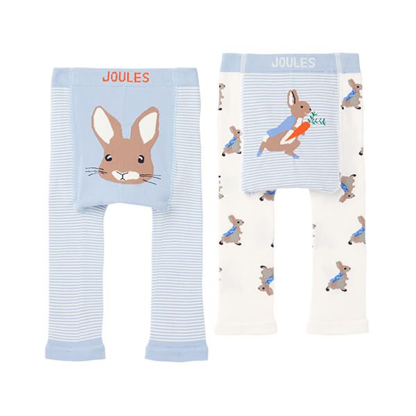 Joules Peter Rabbit Lively Two Pack of Leggings