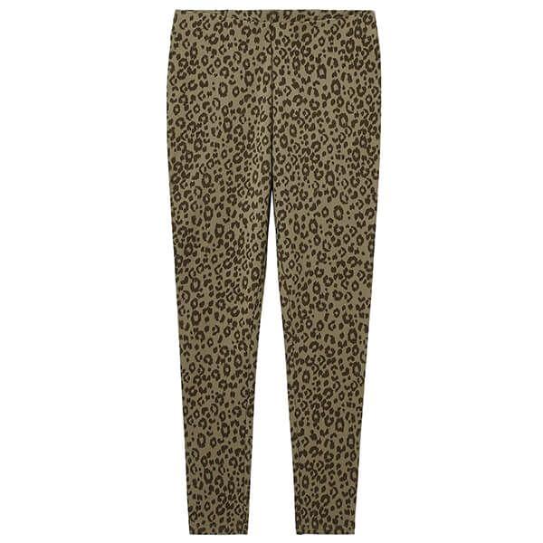 Joules Olive Leopard Ebba Printed Leggings
