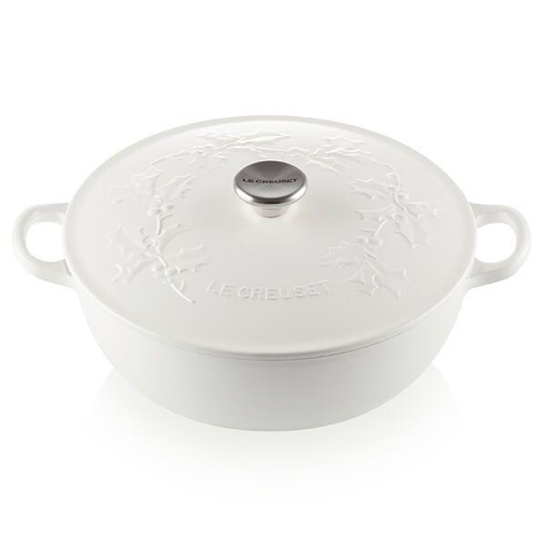 Le Creuset Holly Cotton Cast Iron 26cm Soup Pot