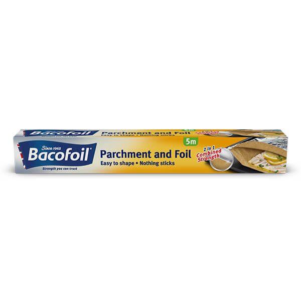 Bacofoil 2 in 1 Parchment & Foil 30cm x 5m
