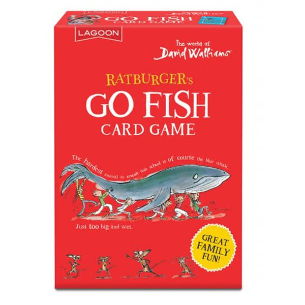 David Walliams Ratburger's Go Fish Card Game
