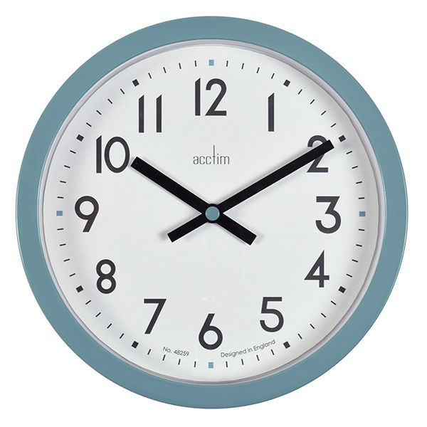 Acctim Radon Wall Clock Green