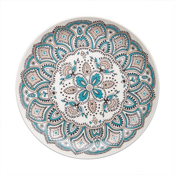 Denby Monsoon Mandala Medium Plate