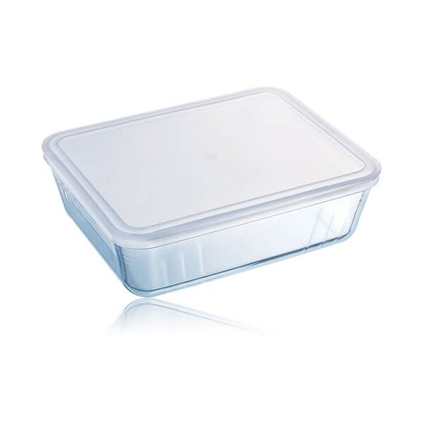 Pyrex Cook & Freeze 19cm Rectangular Dish With Lid