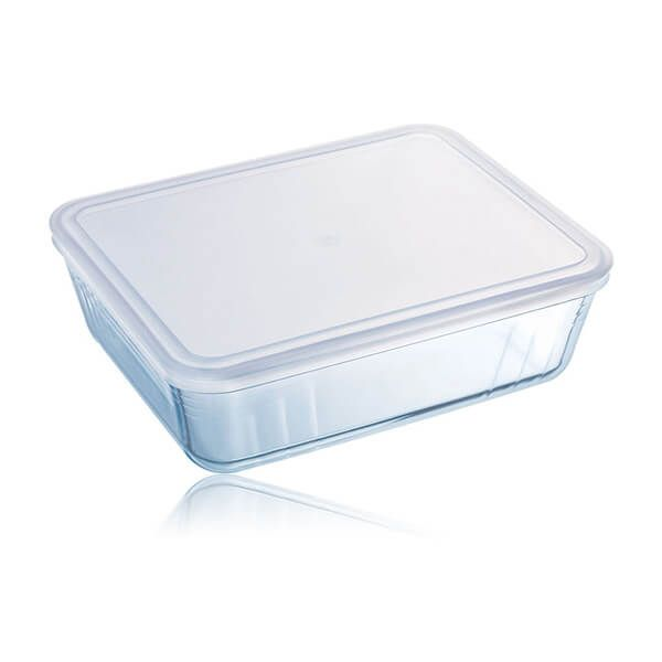 Pyrex Cook & Freeze 22cm Rectangular Dish With Lid
