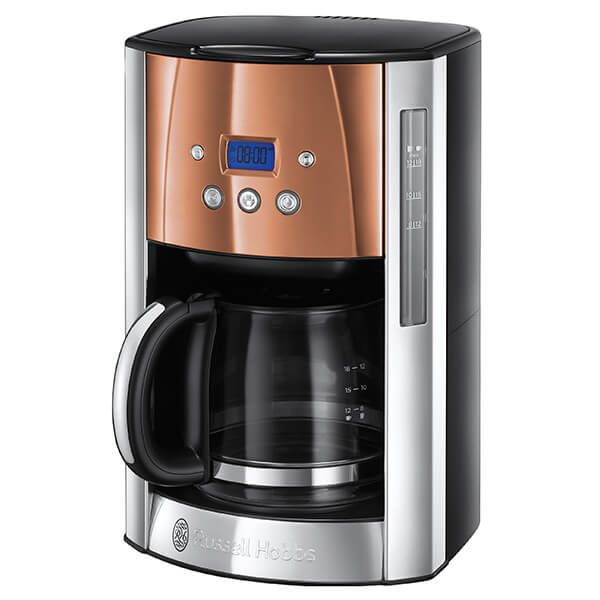 Russell Hobbs Luna Stainless Steel & Copper Filter Coffee Maker
