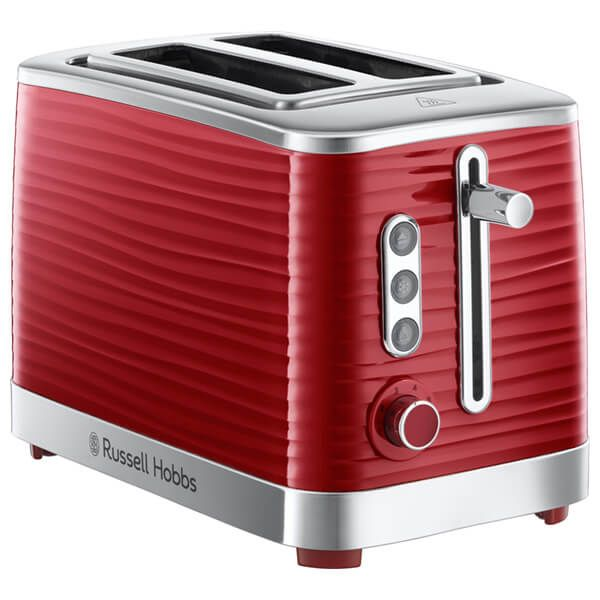 Russell Hobbs 2 Slice Inspire Toaster Red