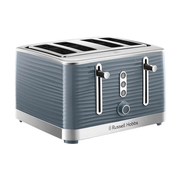Russell Hobbs 4 Slice Inspire Toaster Grey