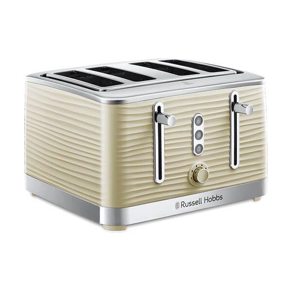 Russell Hobbs 4 Slice Inspire Toaster Cream
