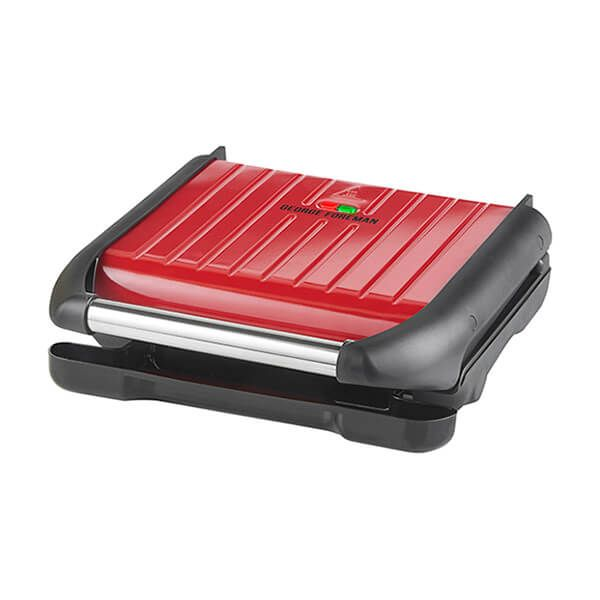 George Foreman Family Steel Grill Red