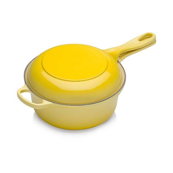 Le Creuset Signature Soleil Cast Iron 22cm 2-in-1 Pan
