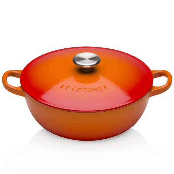 Le Creuset Volcanic Cast Iron 24cm Bouillabaisse Pot