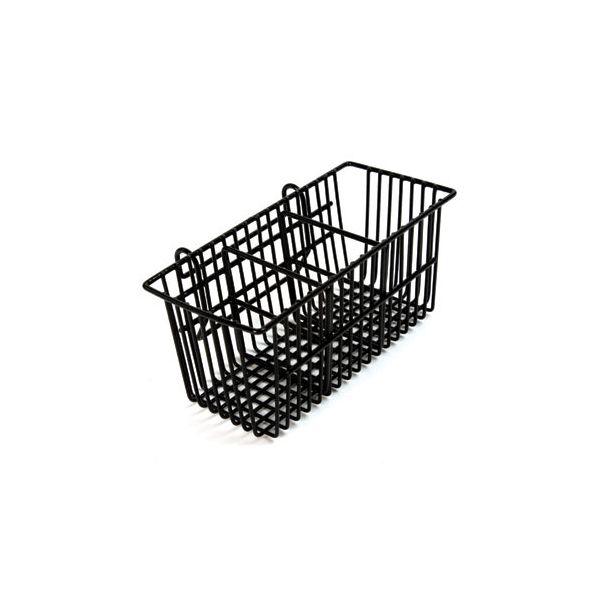 Delfinware Wireware Black Cutlery Basket