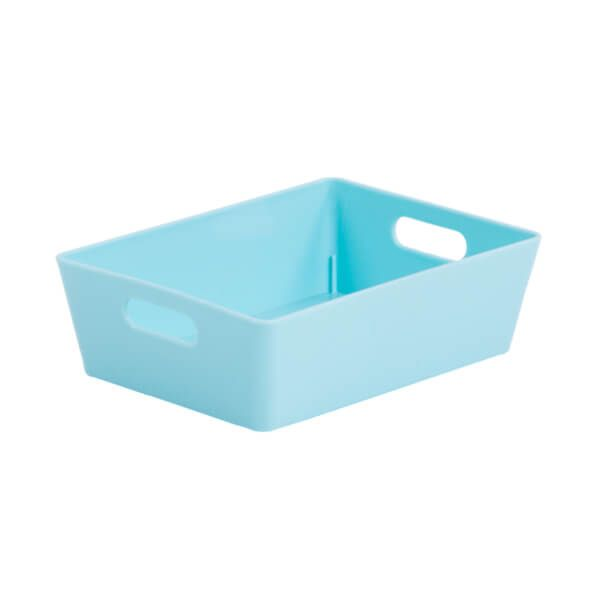 Wham Studio Basket 3.01 Rectangular Duck Egg Blue
