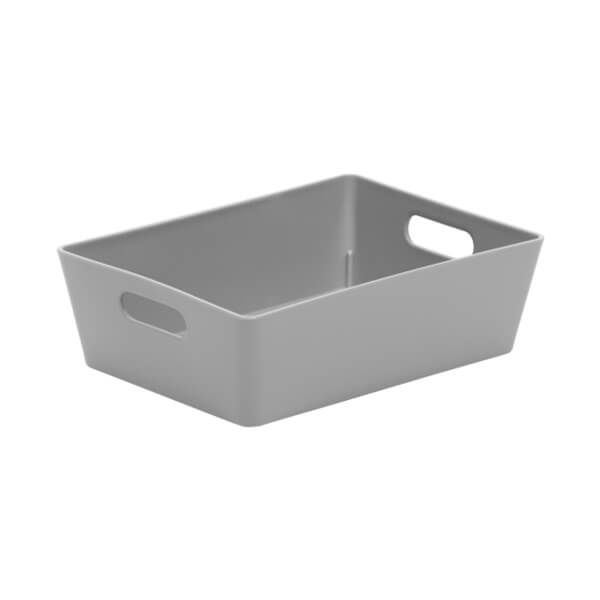 Wham Studio Basket 3.01 Rectangular Cool Grey