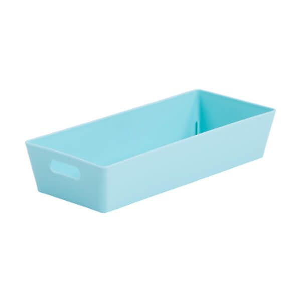 Wham Studio Basket 2.01 Rectangular Duck Egg Blue