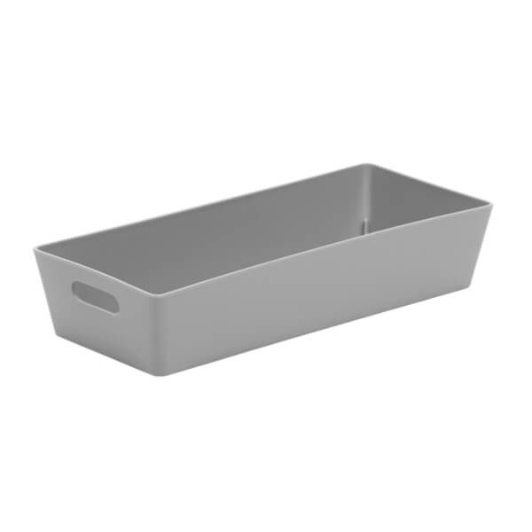 Wham Studio Basket 2.01 Rectangular Cool Grey