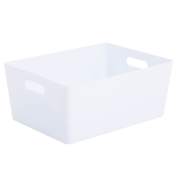 Wham Studio Basket 5.02 Rectangular Ice White
