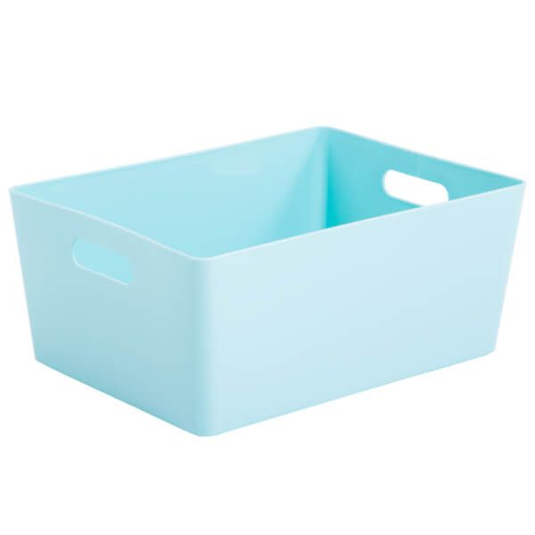 Wham Studio Basket 5.02 Rectangular Duck Egg Blue