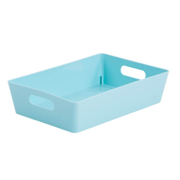 Wham Studio Basket 4.01 Rectangular Duck Egg Blue