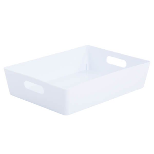 Wham Studio Basket 5.01 Rectangular Ice White