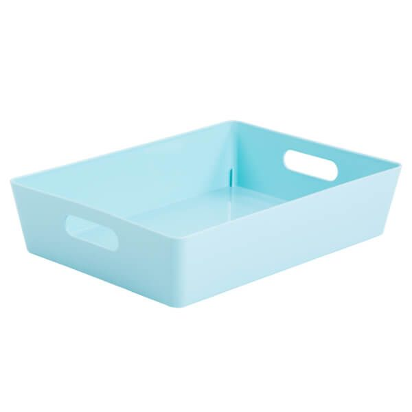 Wham Studio Basket 5.01 Rectangular Duck Egg Blue