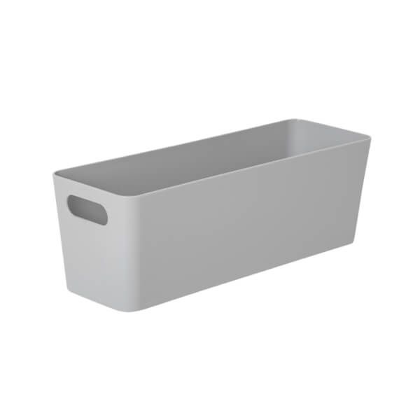 Wham Studio Basket 7.01 Rectangular Grey
