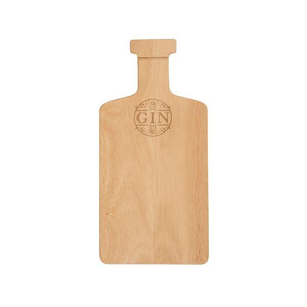 T&G Hevea Gin Bottle Bar Prep Board